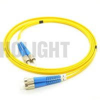 FC UPC to FC UPC Single mode Duplex 3.0mm patch cable_p2