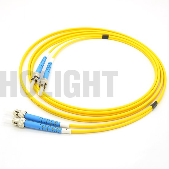 ST UPC to ST UPC Single mode Duplex 3.0mm patch cable_p1