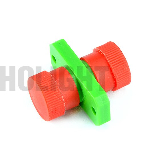 Adapter FC APC SX with flange plastic_p2