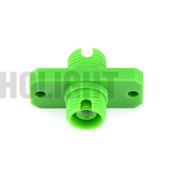 Adapter FC APC SX with flange plastic_p4