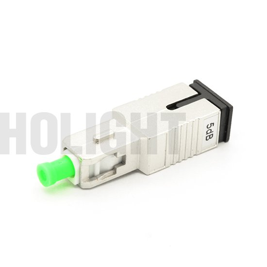 SCAPC Single mode Plug-in Fixed Fiber Optic Attenuator AT11135T_1