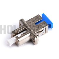 SC to LC Metal Simplex Hybrid Fiber Adapter female to female_p1