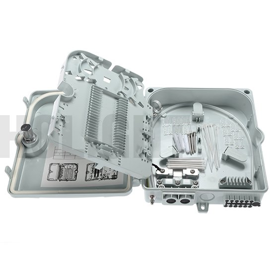 HTB8013 12cores Fiber optic distribution box Gray_p8